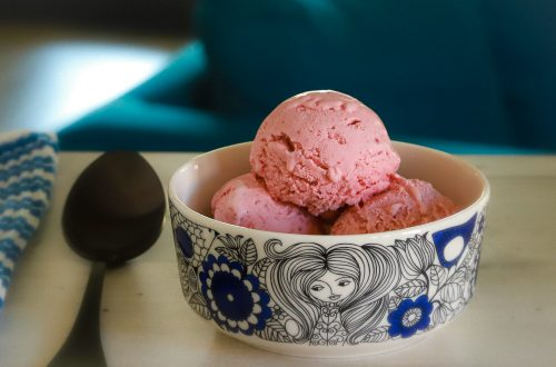 strawberries ice cream recipe