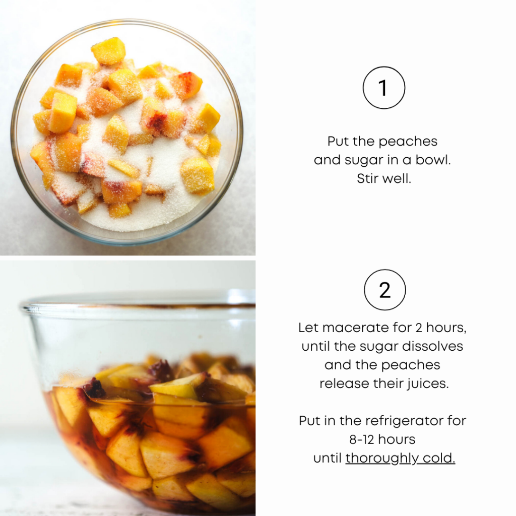to show the recipe at a glance